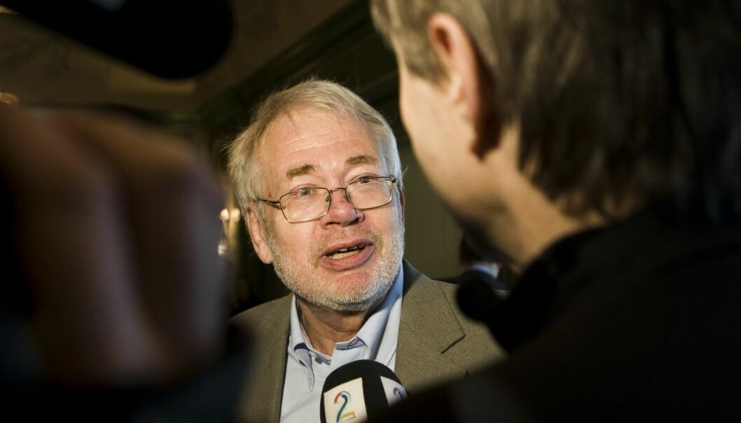 Avisforsker Sigurd Høst er usikker på om den positive trenden i Norge fortsetter. (Foto: Berit Roald / NTB scanpix)