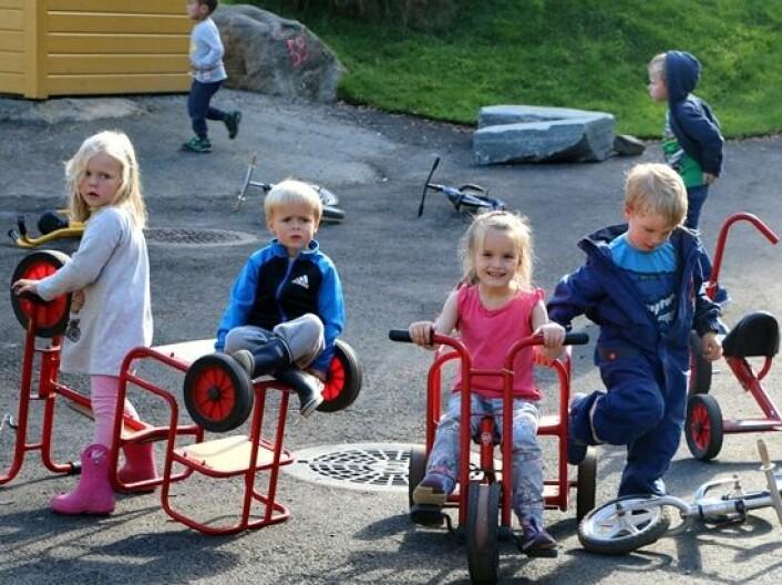 Marihøna barnehage deltar i Erasmus+ partnerskapet «This is me under construction». (Foto: Runo Isaksen/SIU)