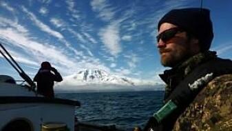 Rune Roland Hansen har vært med på flere forskningstokt i farvannene rundt Jan Mayen. (Foto: 3S Project)