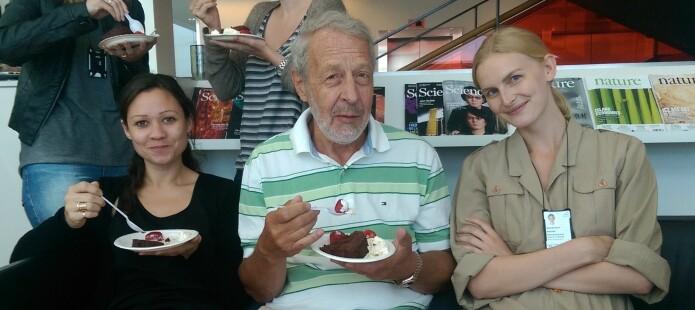 Fra venstre: Caroline Nunes-Xavier, Øystein Fodstad og Karine Flem-Karlsen. (Foto: privat)