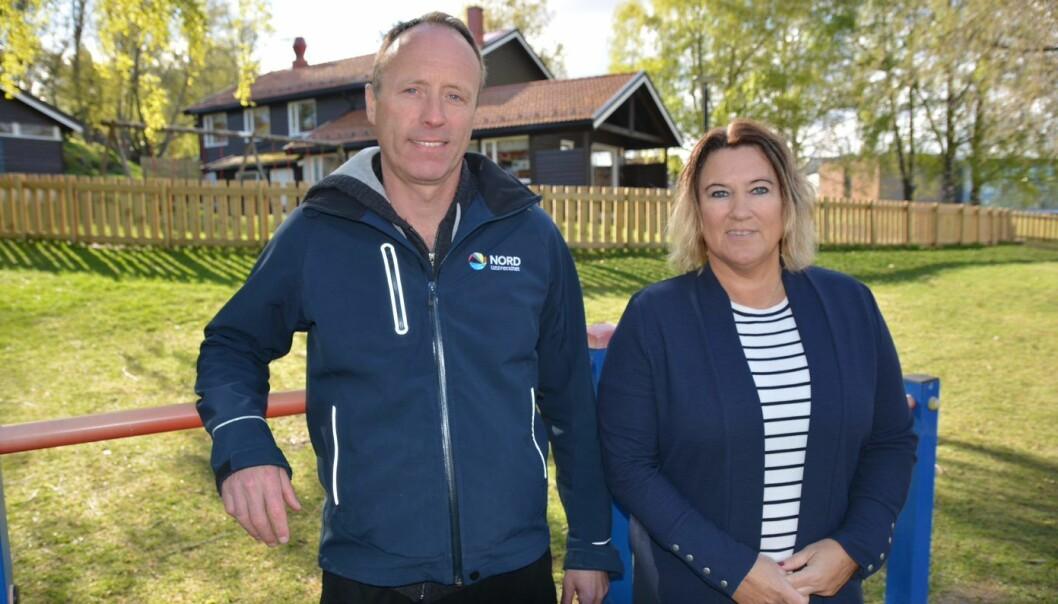 Pål Arild Lagestad og Karin Oddbjørg Kippe har forsket på hvor fysisk aktive barn er i barnehagen. (Foto: Nord universitet)