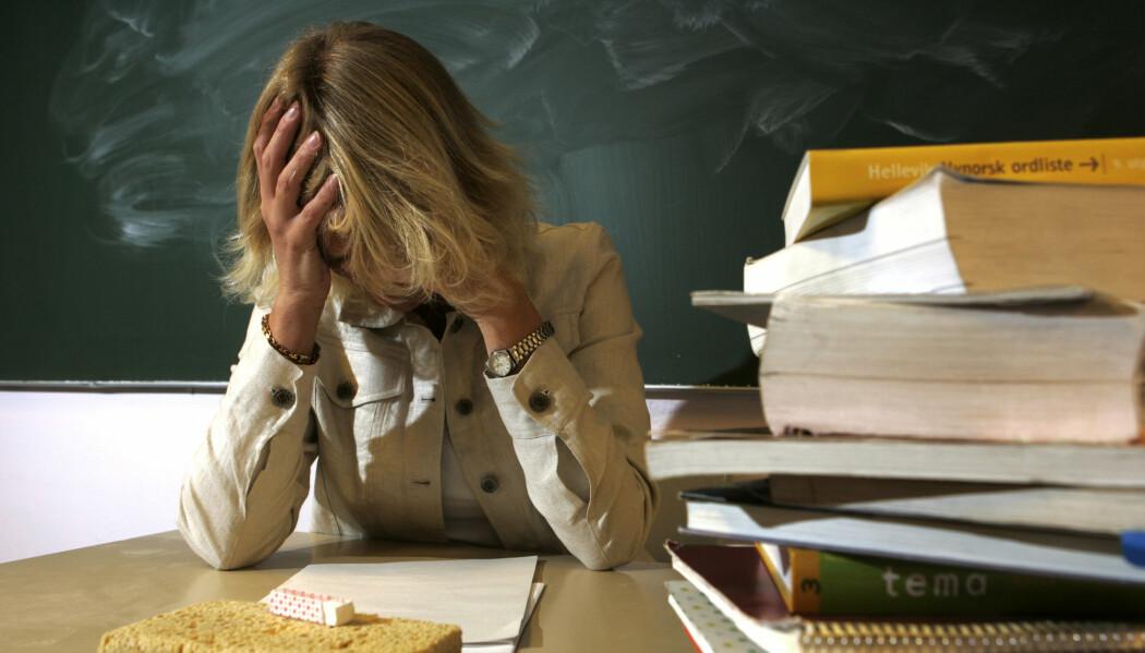 54 prosent av kvinnene og 64 prosent av mennene i spørreundersøkelsen mener at det å føle seg trøtt og sliten ikke gir grunn til sykmelding. (Illustrasjonsfoto: Bjørn Sigurdsøn/NTB scanpix)