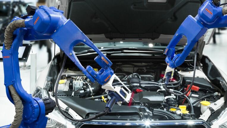 Automatikk og roboter gjør produksjonen billigere. (Foto: Colourbox)