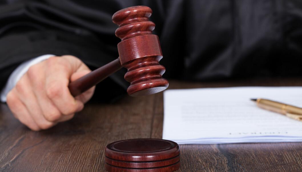 Dommere kan kamuflere feil i en ullen dom