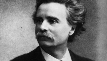 Edvard Grieg (f. 15.06.1843) blei mellom anna brukt i tyske propagandafilmar under andre verdskrig. Det vekte motstandskamp hjå nordmennene. (Foto: AKG-Images/NTB Scanpix)