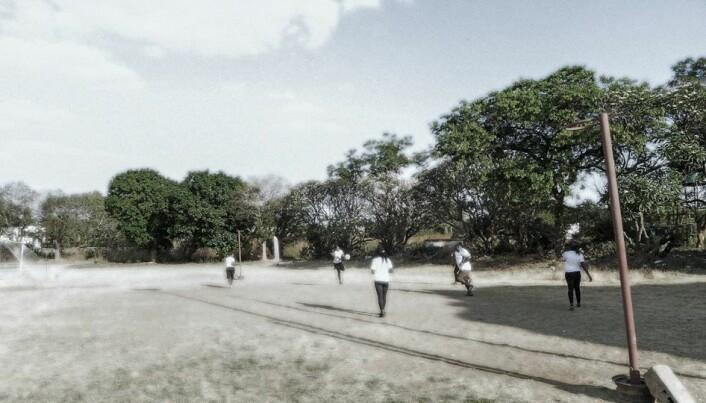 Mange jobber for å gjøre idretten til en så trygg arena som mulig for unge zambiere. (Foto: Gerd Marie Solstad)
