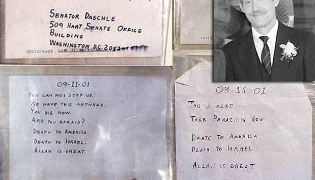Var det  Dr. Bruce E. Ivins som sto bak miltbrannbrevene som fortsatt sprer frykt over hele verden den dag i dag? (Foto: US Army Handout / NTB scanpix)