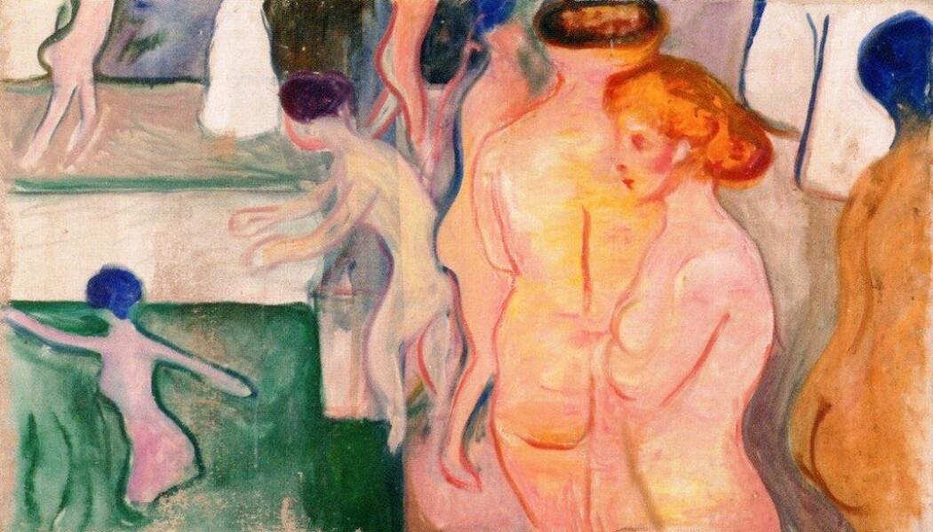 − Mange forskere er i dag enige om at hetetokter og tørr skjede er de eneste symptomene som kan knyttes direkte til kvinners overgangsalder, skriver bloggforfatter Siri Vangen. (Bilde: Edvard Munch, public domain via Wikiamedia commons)