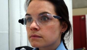 Politistudenter lærte mer med kamerabriller