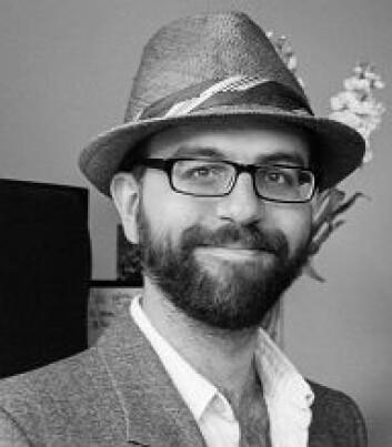 Mathew Thomas, forsker ved NIKU. (Foto: NIKU)