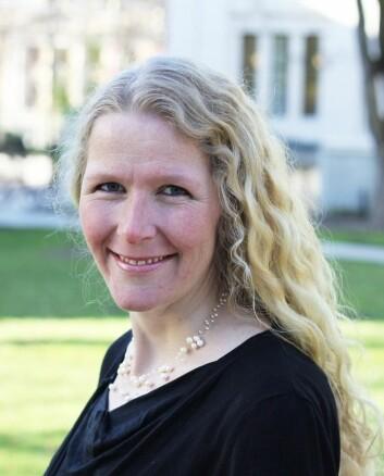 Maria Astrup Hjort, postdoktor ved Juridisk fakultet, Universitetet i Oslo. (Foto: UiO)