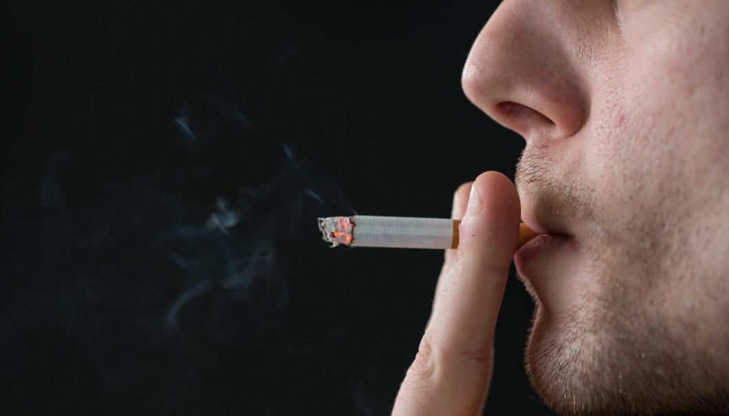 Unge menn som røyker har høyere risiko for at sine fremtidige barn får astma enn ikke-røykere. (Foto: Shutterstock / NTB scanpix)