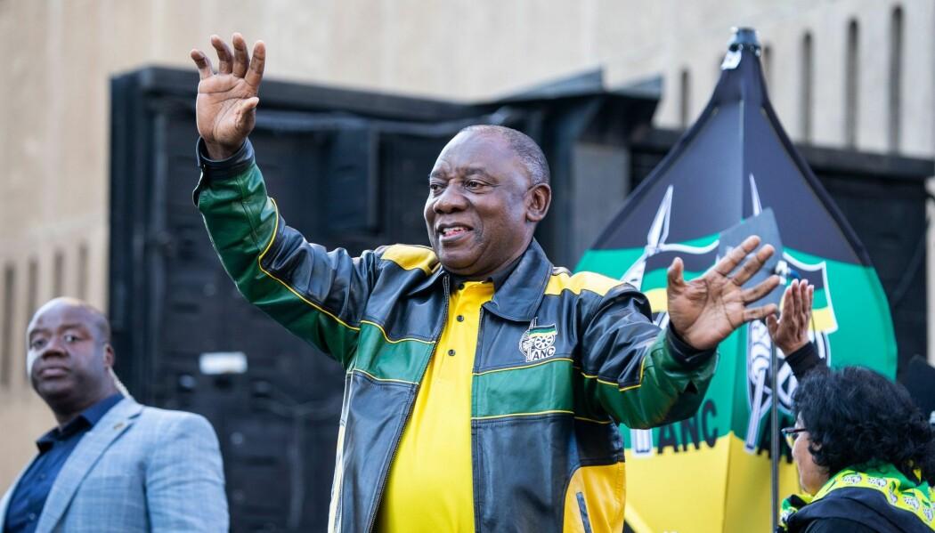 Sør-Afrikas president Cyril Ramaphosa har som mål å rydde opp i korrupsjon og redusere landets arbeidsledighet. (Foto: WIKUS DE WET / AFP / NTB Scanpix)