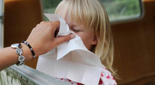 - Sprayvaksine virker like bra som vanlig vaksine