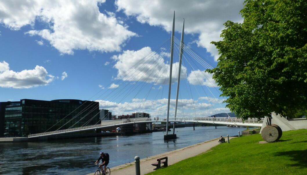 Drammen var blant de første kommunene som tok i bruk merkevarebygging som en måte å drive byutvikling og tiltrekke seg attraktive innbyggere på.  (Foto: Jan Ovind, VG, NTB scanpix)