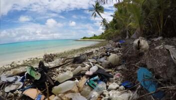 Denne knøttlille øygruppa utenfor Indonesia har et enormt plastproblem
