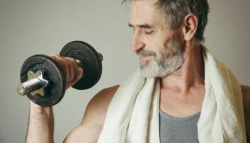 Kanskje det ikke er så dumt å legge på noen kilo på manualene neste gang du trener, selv om du sliter med blodtrykket.  (Foto: triocean, Shutterstock, NTB scanpix)