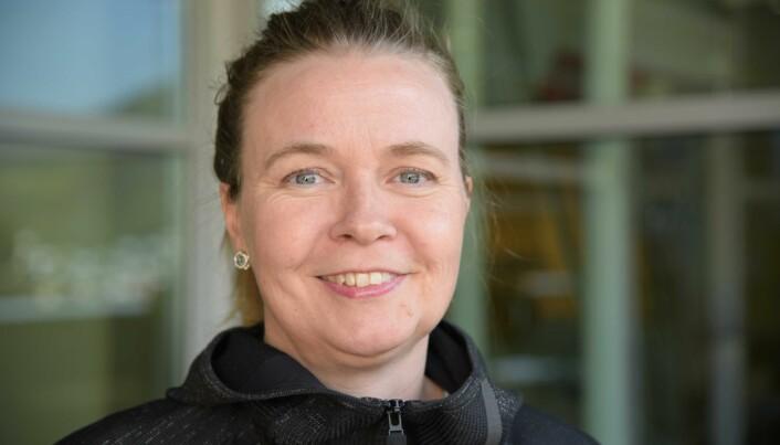 Oddrun Anita Gudbrandsen er forsker ved Klinisk institutt 1, UiB. (Foto: Kim Andreassen).