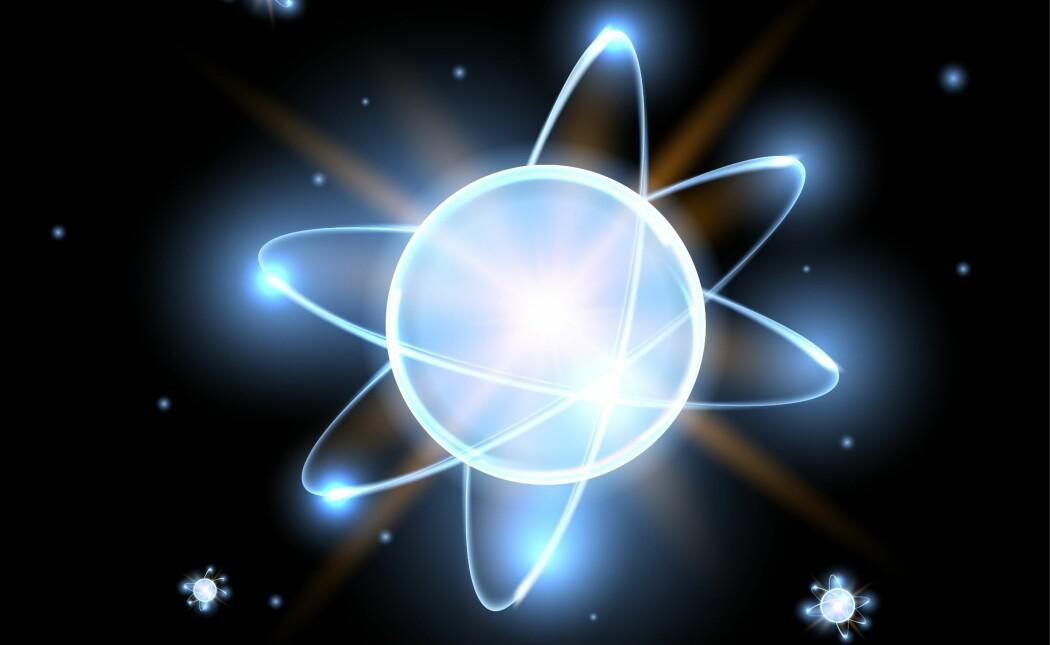 Det er mulig å snu på atomer, forklarer forsker. (Illustrasjon: Camilla Kottum Elmar / Senter for grunnforskning CAS)