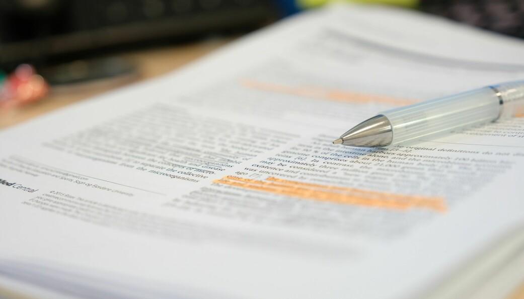 Forskerne mener fagfellevurdering ikke er noen garanti mot misvisende presentasjon av forskning. (Foto: PolyPloiid / Shutterstock / NTB scanpix)