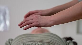 Forskning viser ingen effekt av healing mot kroppslige plager