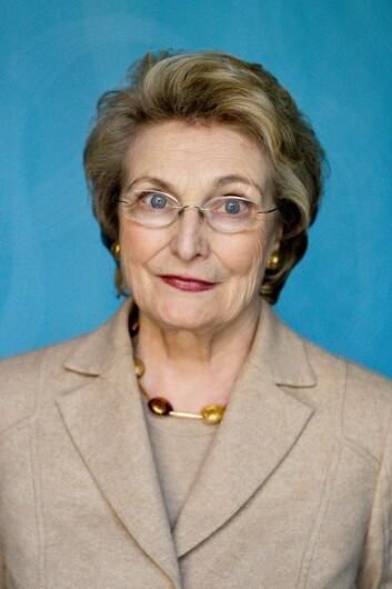 Statsviter Helga Hernes mener handlingsplanen er ambisiøs og pragmatisk. (Foto: PRIO)