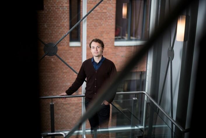 – Utdanningen gir deg noen ferdigheter som gjør deg mer produktiv, sier doktorgradsstipendiat Karl Ingar Røberg ved Senter for profesjonsstudier, Høgskolen i Oslo og Akershus. (Foto: Skjalg Bøhmer Vold)
