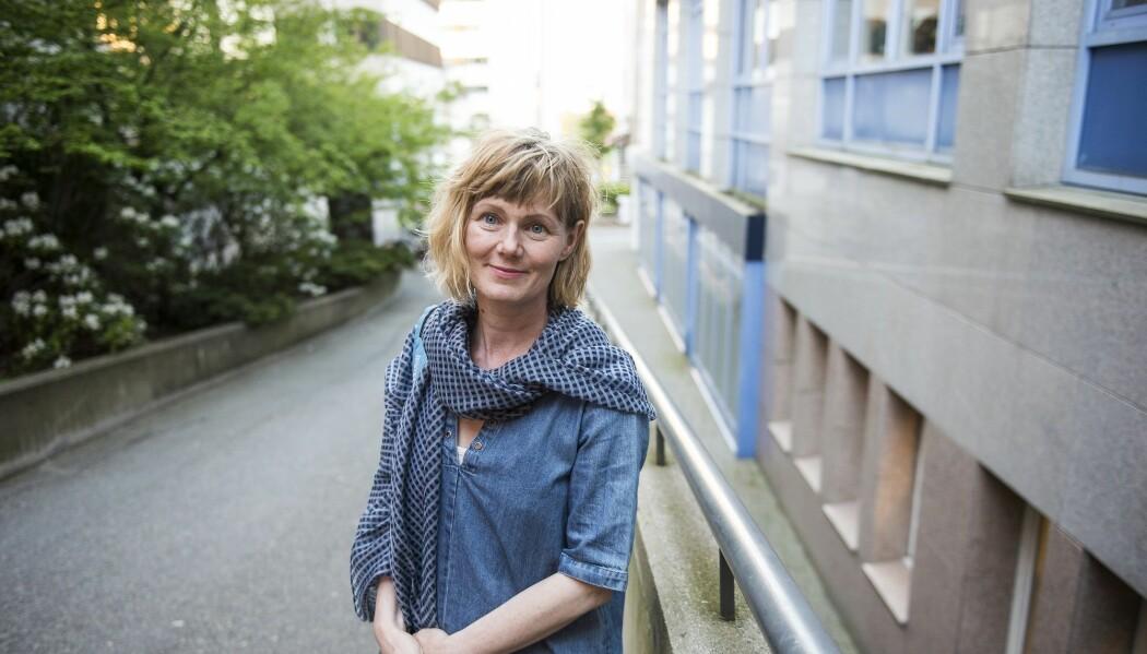 Religionsprofessor Anne Kalvig fulgte foredraget «Prinsessen og sjamanen». (Foto: Carina Johansen, NTB scanpix)