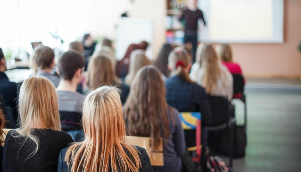 Det kan være en god idé å sørge for at av elevene i en skoleklasse har den samme etniske bakgrunnen, viser en matematisk modell utviklet av den amerikanske nobelprisvinneren Thomas Schelling. (Illustrasjonsfoto: Areipa.lt / Shutterstock / NTB scanpix)