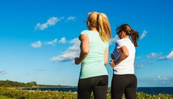God kondisjon er spesielt viktig for kvinners hjerter