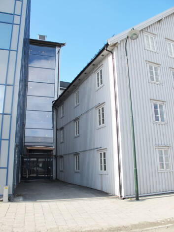 Møte mellom gammelt og nytt. Fra Tromsø, 2011. Foto: Cornelis Horn Evensen, NIKU