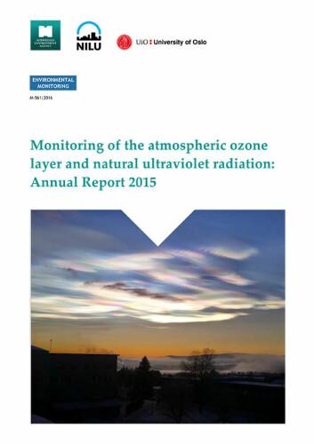 Rapporten om ozonlaget slippes i dag, fredag 16. september.