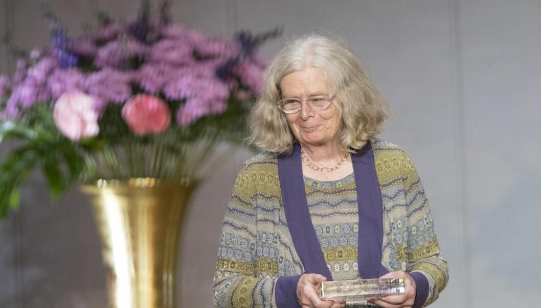 Karen Uhlenbeck er den første kvinnen som mottar Abelprisen. Like muligheter blant kjønnene gir like resultater, sier hun. (Foto: Terje Bendiksby, NTB scanpix)