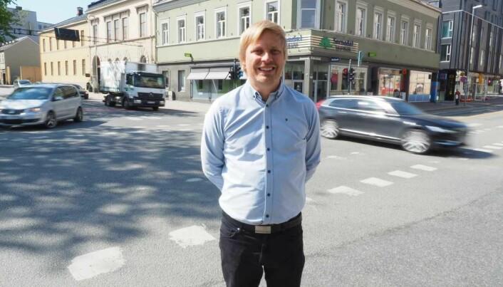 Petter Arnesen er forsker i SINTEF. (Foto: Remy Eik-Nikolaisen)