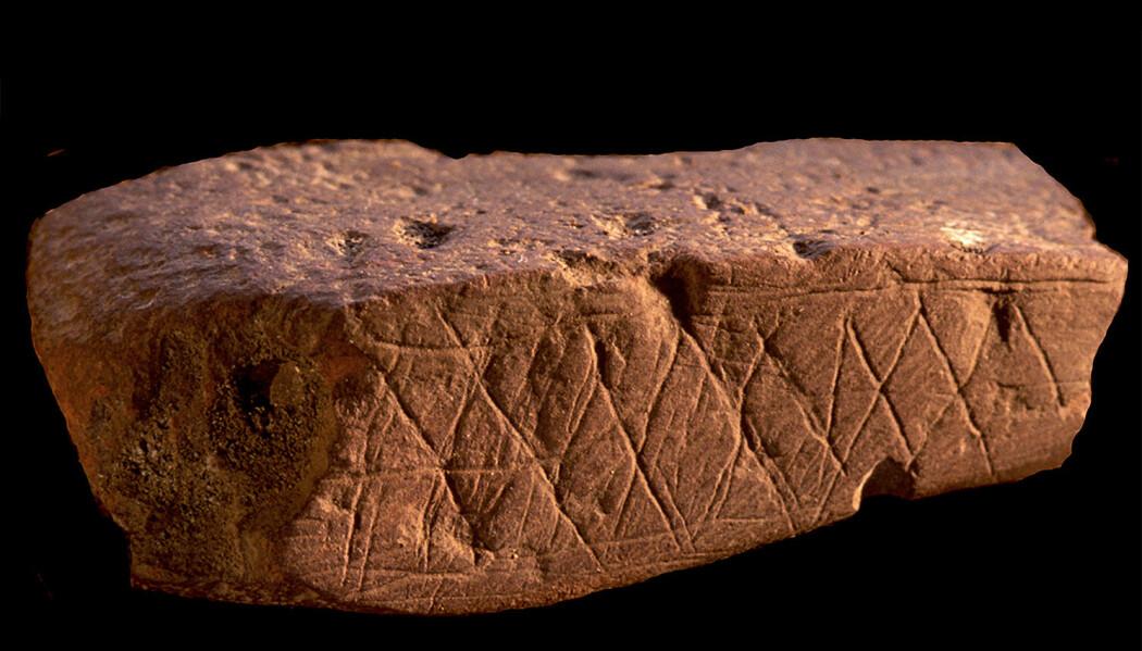 Hvordan kan arkeologene si noe om livet til de aller første menneskene? Noe av svaret ligger i flere tusen år gamle gjenstander funnet i huler langs kysten i Sør-Afrika. (Foto: Henshilwood d'Errico Foster)