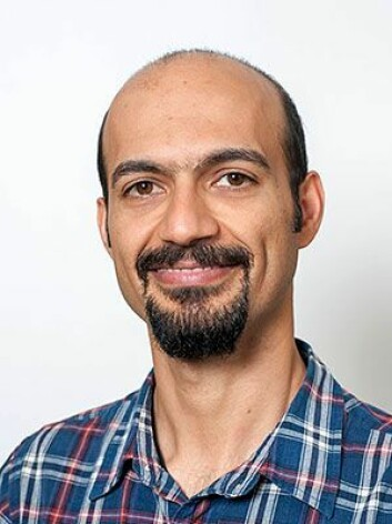 Reza Ghiasvand. (Foto: Gunnar F. Lothe/UiO)