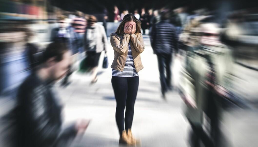Angstlidelser kan deles inn i forskjellige undergrupper som sosial angst, ulike fobier og generalisert angst. (Foto: Tero Vesalainen / Shutterstock / NTB scanpix).