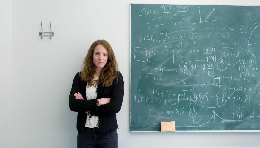 – Det var sterkt å høre Uhlenbecks prisvinnertale, sier professor ved Matematisk institutt ved UiB, Inga Berre. (Foto: Eivind Senneset, UiB)