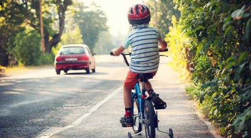 Hvor oppmerksomme er barn i trafikken?