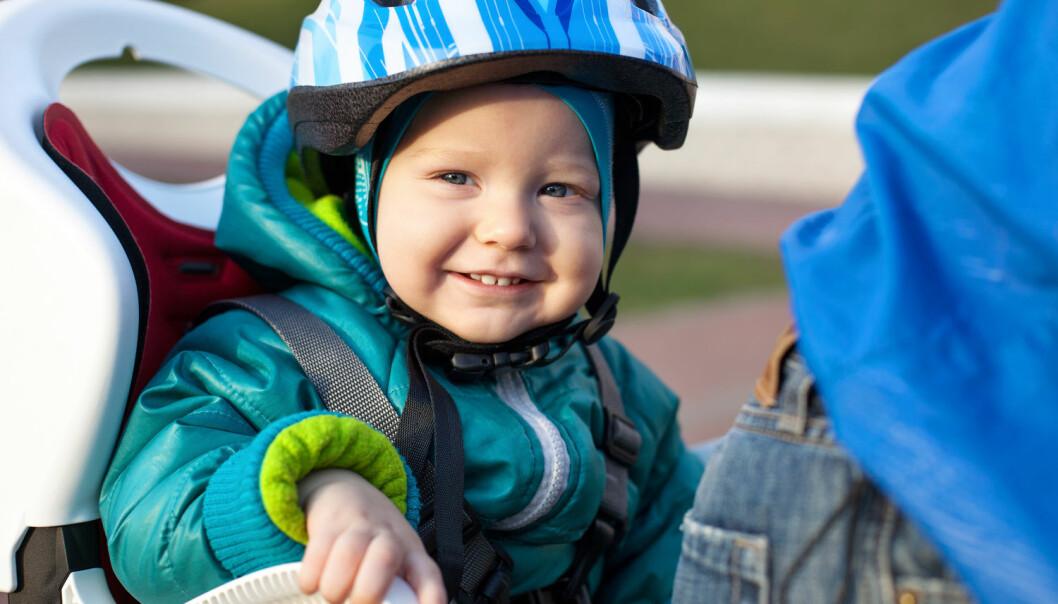 Over halvparten av skadene på barn fra null til tre år, var skader i hodet. (Illustrasjonsfoto: Photobac / Shutterstock / NTB scanpix)