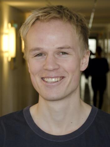 Markus Handal Sneve, hukommelsesforsker ved Universitetet i Oslo. (Foto: Svein Milde, Universitetet i Oslo)