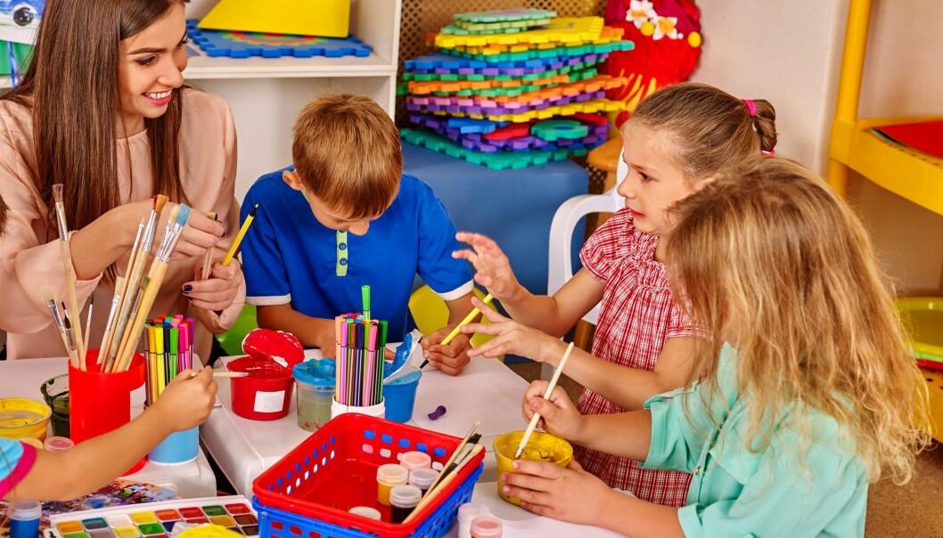 Forsker har undersøkt hvordan hvordan barn med autisme ble inkludert i leken i tre barnehager. (Illustrasjonsbilde: Poznyakov / Shutterstock / NTB scanpix)