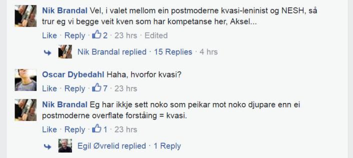(Foto: (Skjermbilde fra Facebook))