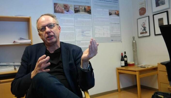 Lege og forsker, Bjørn Lichtwarck har lenge jobbet med å utvikle en behandlingsmodell som kan bedre psykologiske og adferdsmessige symptomer hos demenspasienter. (Foto: Frank Roar Byenstuen).
