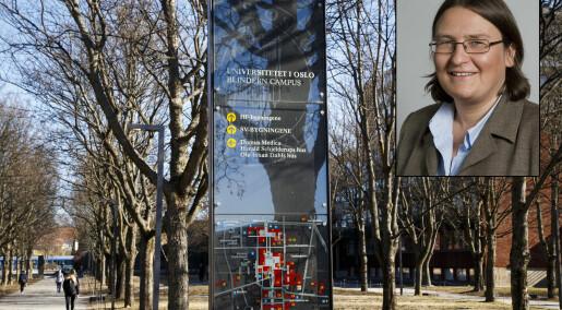 Universitetet i Oslo vil ikke si om plagiatsaken vil fåkonsekvenser