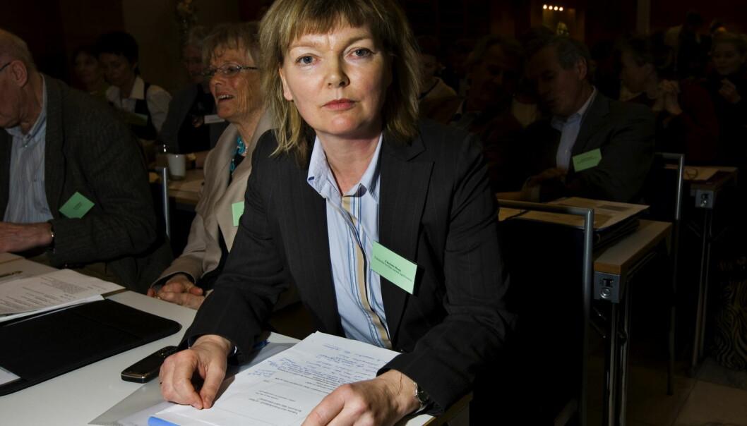Charlotte Haug, tidligere redaktør Tidsskriftet for den norske legeforening, mener det er et problem at jus blandes inn i forskningsetikken. (Foto: Frode Hansen / VG / NTB scanpix)