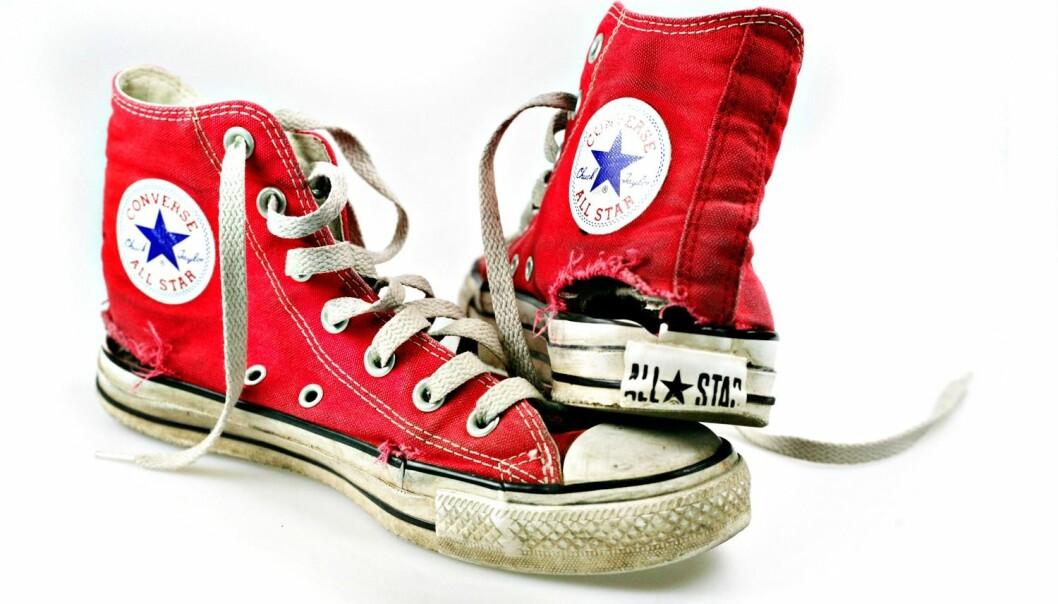 Converse er et eksempel på en basketsko som har blitt veldig populær. Hva er det som kjennetegner merkevarer som har stor suksess? Forskere ved BI forsøker å gi svar. (Foto: Stein Bjørge, Aftenposten, NTB scanpix)