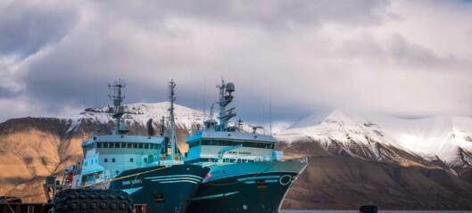Tidlig høst i Arktis og toktet har startet