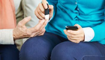 Forskerne fant ut at ektefeller til diabetikere, både kvinner og menn, hadde større sannsynlighet for å selv ha diabetes type to (Foto: Robert Kneschke / Shutterstock / NTB scanpix)