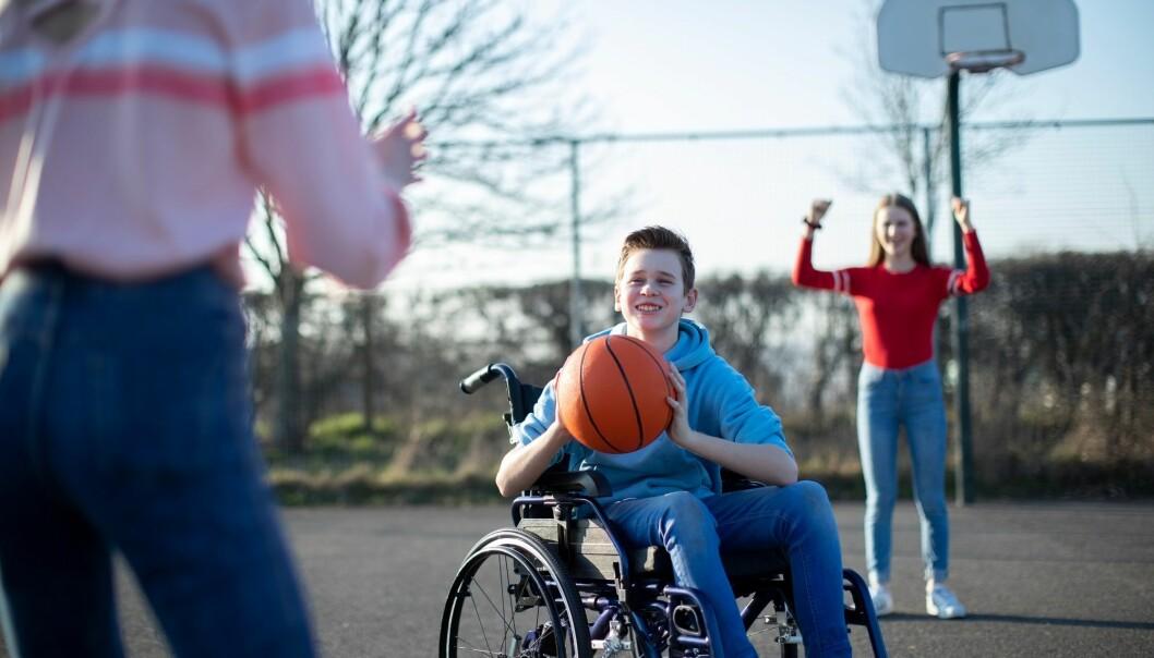 Unge med funksjonshemninger må føle seg inkludert for å faktisk være inkludert, konkluderer Terese Wilhelmsen i sin avhandling. (Illustrasjonsbilde: Daisy Daisy / Shutterstock / NTB scanpix)